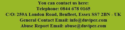 contact us at DNViper